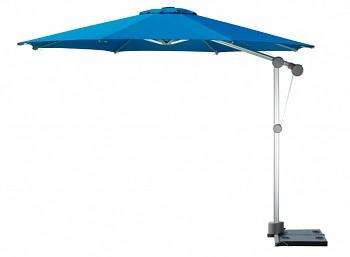 Slunečník Doppler PROFILINE PROTECT 340 cm s boční tyčí - barva akvarium