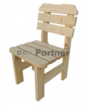 Masivní dřevěný zahradní nábytek (křeslo z borovice) dřevo 32 mm