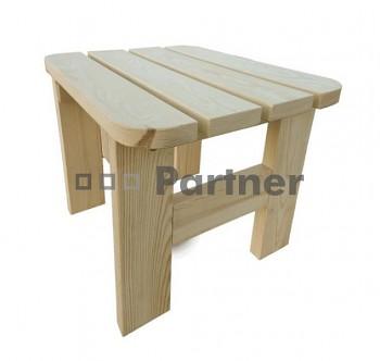 Masivní dřevěný zahradní nábytek (stolička z borovice) dřevo 32 mm