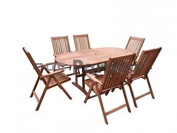 Zahradní nábytek sestava FIONA 1+6