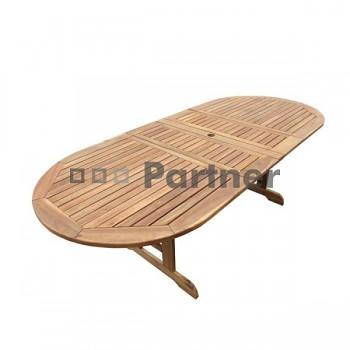 Stůl oválný rozkládací SHEFFIELD