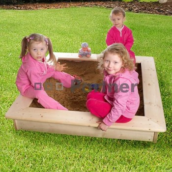 Dětské pískoviště s poklopem + bábovičky zdarma