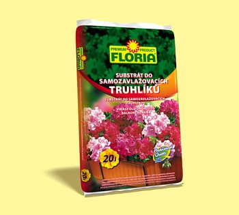 FLORIA substrát do samozavlažovacích truhlíků 20 l