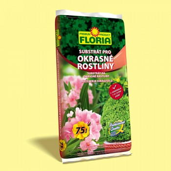 FLORIA substrát pro okrasné rostliny 75 l