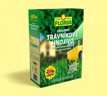 FLORIA trávníkové hnojivo základní 2,5 kg