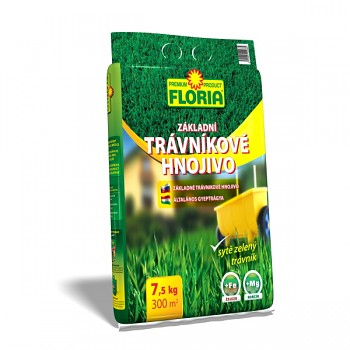 FLORIA trávníkové hnojivo základní 7,5 kg