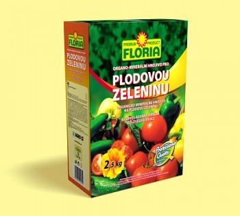 FLORIA organo-minerální hnojivo pro plodovou zeleninu 2,5kg