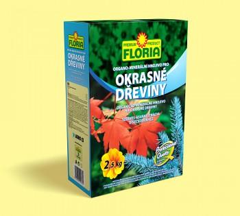 FLORIA organo-minerální hnojivo pro okrasné dřeviny 2,5kg