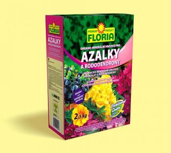 FLORIA organo-minerální hnojivo pro azalky a rododendrony 2,5kg