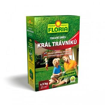 FLORIA Travní směs Král trávníků 0,5 kg se zeolitem 200 g