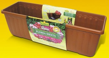 Truhlík Agro FLORIA SIESTA 80 cm, samozavlažovací - terakota
