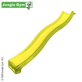 Plastová skluzavka 240 cm - žlutá barva