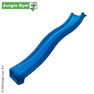 Plastová skluzavka 240 cm - modrá barva