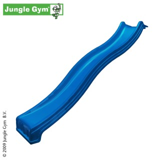 Plastová skluzavka 300 cm - modrá barva