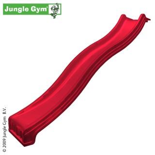 Plastová skluzavka 300 cm - červená barva