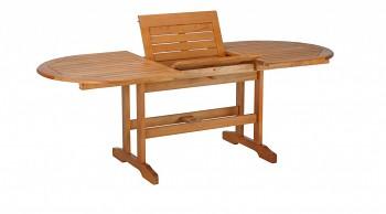 Zahradní stůl oválný Lake Deer 150/220x100x75cm