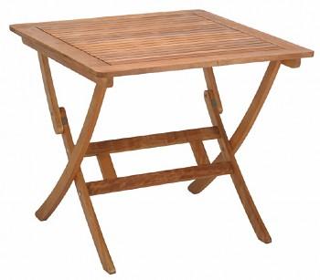 Skládací zahradní stolek Lake Sylva 80 x 80 cm