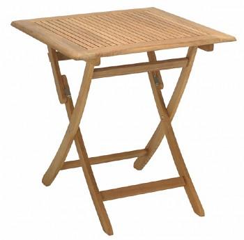 Zahradní skládací stolek Lake Moraine 80 x 80 cm
