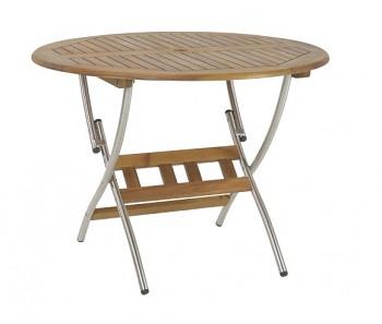 Zahradní kulatý stolek Lake Louise 120 cm
