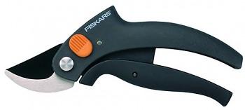 Fiskars nůžky zahradní 111340 s pákovým převodem dvoučepelové