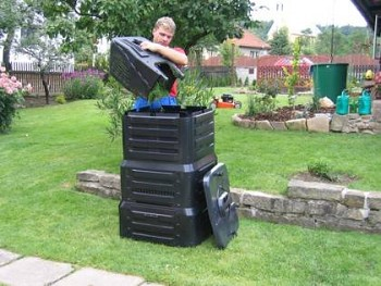 kompostér zahradního odpadu