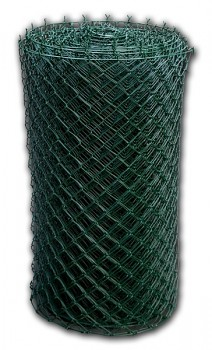 Pletivo BUCHLOVAN poplastované pozinkované s napínacím drátem nahoře a dole - výška 150 cm