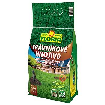 Trávníkové hnojivo s odpuzujícím účinkem proti krtkům 2,5 kg