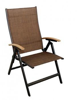 Židle Doppler Kendo hnědá polohovací