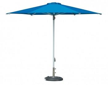 Slunečník Doppler PROFILINE PROTECT 340 cm se středovou nohou - barva akvarium