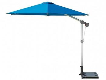 Slunečník Doppler PROFILINE PROTECT 300 cm s boční tyčí - barva akvarium